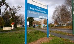 Shrewsbury and Telford NHS Trust sign for Royal Shrewsbury hospital