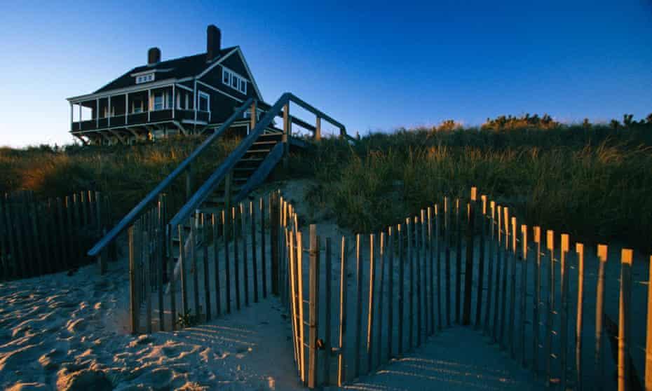 Seaside residence in East Hampton, Long Island, NY, USA