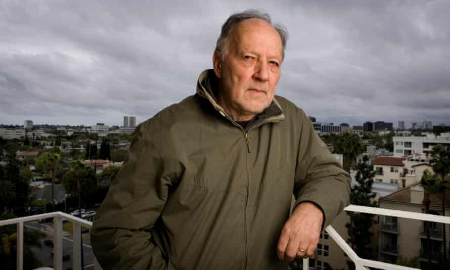 'I want to throw my arm around your shoulder and take you to the realm of complete poetry and fantasy' … Werner Herzog