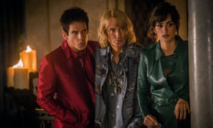 'She's hot — I trust her' … Stiller, Wilson and Penelope Cruz in Zoolander 2