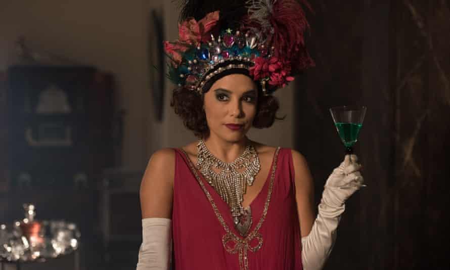 Eva Longoria as Margot Beste-Chetwynde in Decline and Fall.