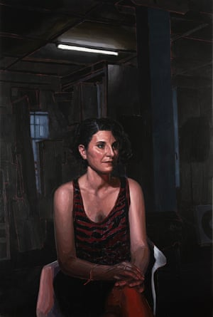 Often I Am Thinking about Something Else (Angelica at Jasper's studio) by Abdul Abdullah.