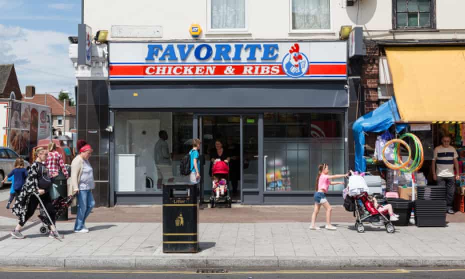 Barking and Dagenham in east London was the first UK council to introduce a fast food cap, in 2010.