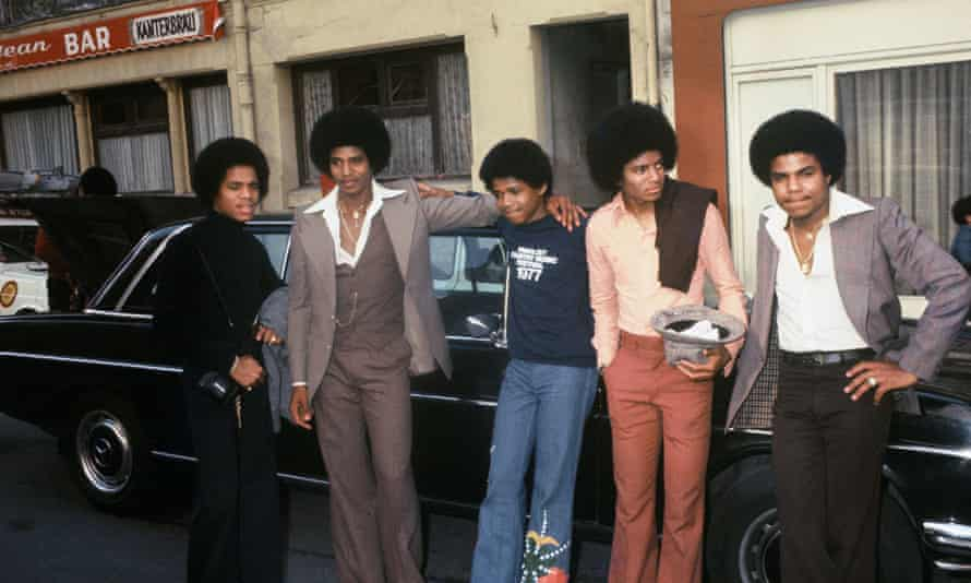 The Jackson 5 at Buttes Chaumont Studios, Paris, 30 May 1977.