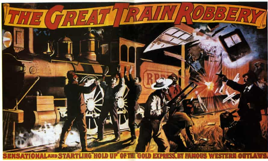 Train in vain ... The Great Train Robbery (1903).