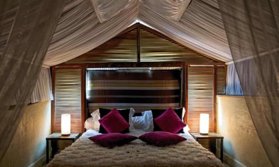 Bedroom at Riad des Arts, Marrakech, Morocco