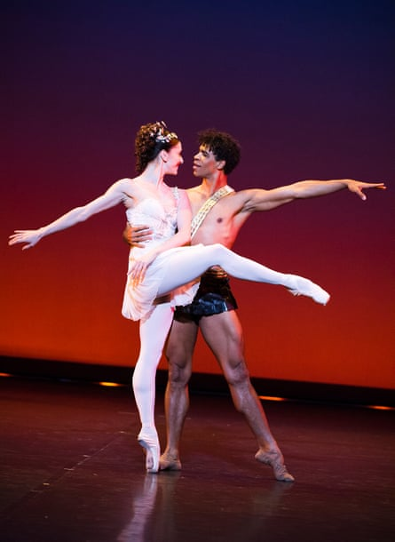 Carlos Acosta and Marianela Nuñez in Diana and Acteon fromA Classical Selection.