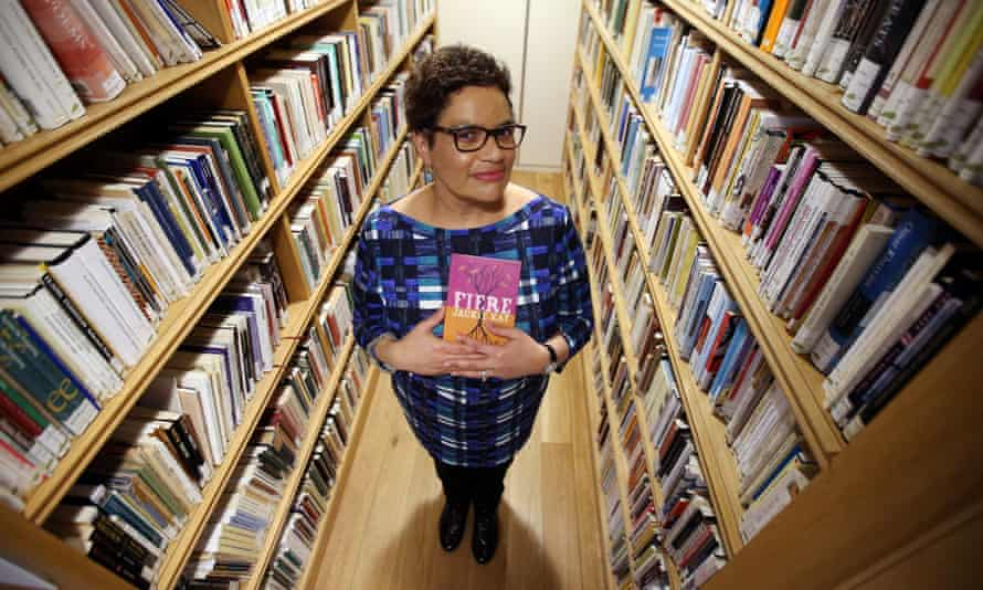 Jackie Kay at the Scottish Poetry Library in Edinburgh last week