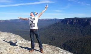Ed Rex, Australia blue mountains