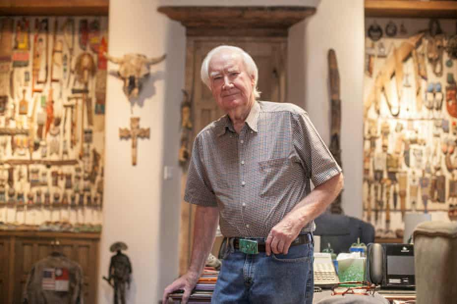 Inside the home of Forrest Fenn, an eccentric millionaire who says he hid his treasure somewhere in the Rocky Mountains.