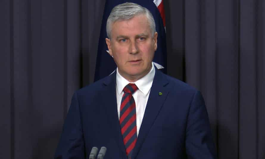 Federal Minister for Small Business Michael McCormack