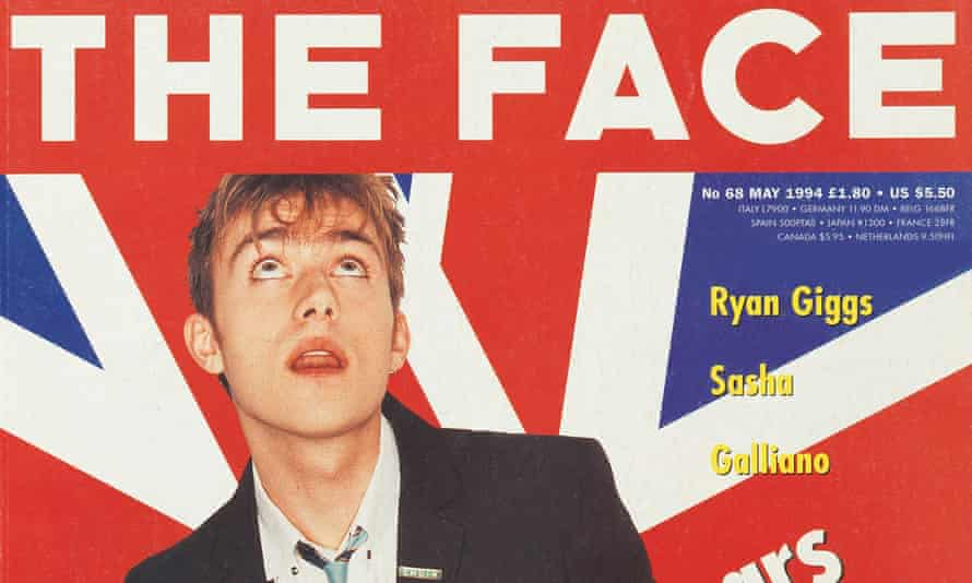 The Face of Britpop … Blur's Damon Albarn on the magazine's May 1994 cover.