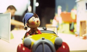 Noddy in a car