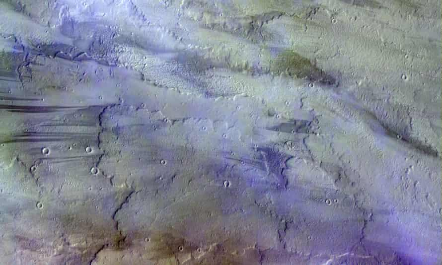 The Trace Gas Orbiter has already photographed the Martian atmosphere.