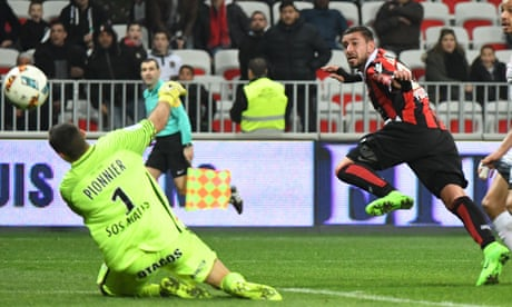 After 17 months out injured, Mickaël Le Bihan comes off the bench to rescue Nice