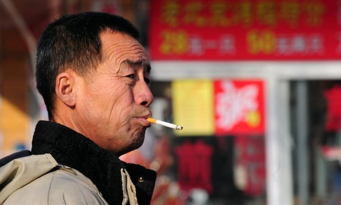 Курение унесет жизни каждого третьего молодого человека в Китае, когда страна столкнется с «эпидемией» лицом к лицу.