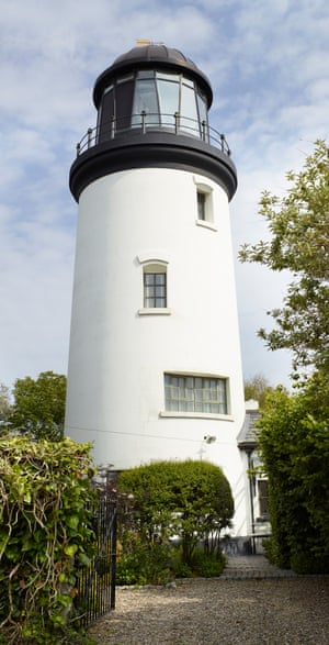 Guiding light: the lighthouse, with magnificent lantern room at the top offering views of the surrounding countryside.