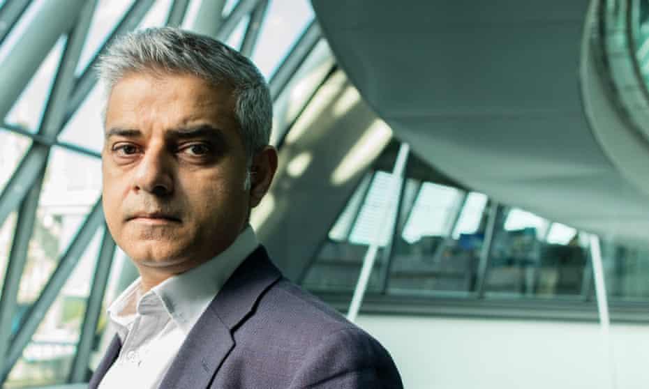 Sadiq Khan Mayor of London City Hall London Photograph by David Levene 12/5/16
