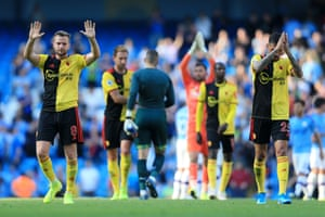 Tom Cleverley apologises after the match.