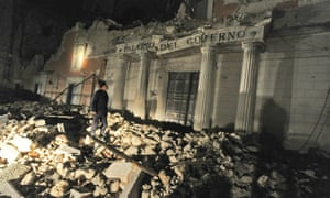 The devastation in 2009.