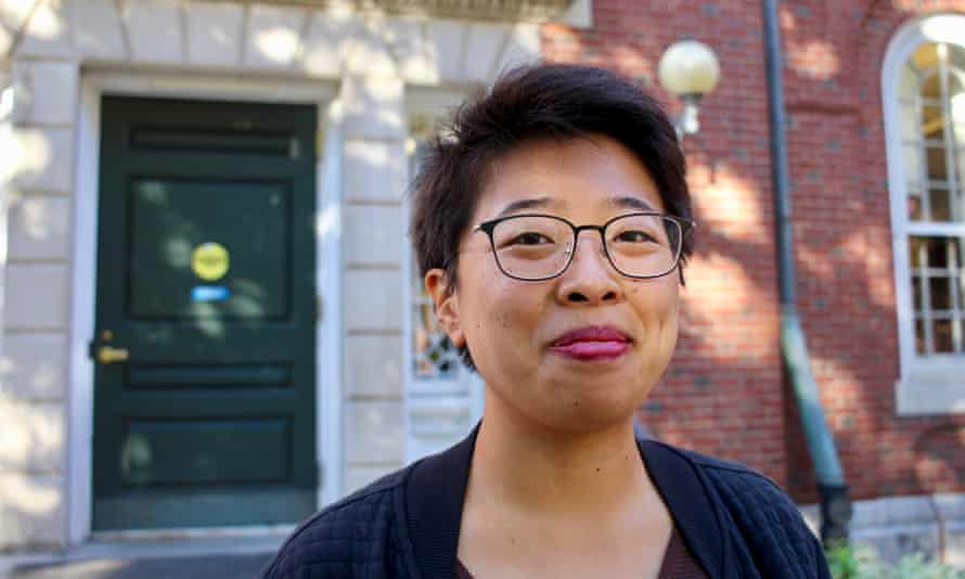 Senior Sally Chen will testify on behalf of Harvard in the trial. Her identity and her race were a major part of her application. 'I don't think I could have written about myself without talking about race,' she said.