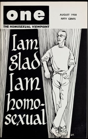 ONE Magazine front cover, volume 6, number 8[sic], September 1958