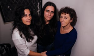 Analía Kalinec, Erika Lederer and Liliana Furió in Buenos Aires.
