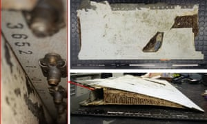 MH370: officials say piece of aircraft wing found on
