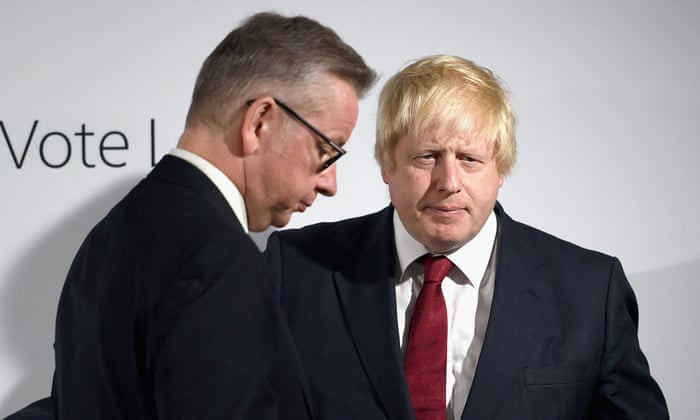 UK government tensions rise after leak of Johnson-Gove