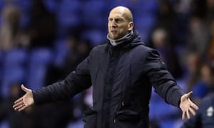 Jaap Stam took Reading to within a penalty shootout of the Premier League but the team's results have declined dramatically this season.