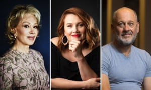 Australian authors (L-R) Blanche d'Alpuget, Clare Bowditch and Tim Flannery have books out this month.