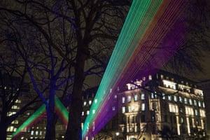 Spectral, by Katarzyna Malejka and Joachim Slugocki in St James's Square