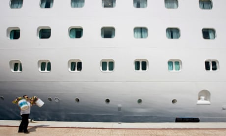 Cocaine haul seized from UK couple in 70s on cruise ship – police