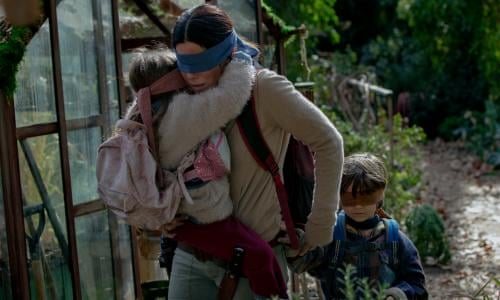Bird Box review – Sandra Bullock's Netflix thriller is a
