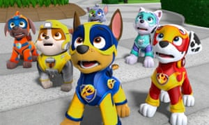Pooch power … PAW Patrol: Mighty Pups.