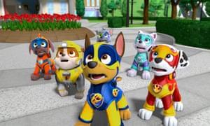 Paw Patrol Mighty Pups: the kids seem to like it.