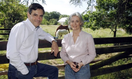 François and Penelope Fillon in Beauce, France, in 2007.