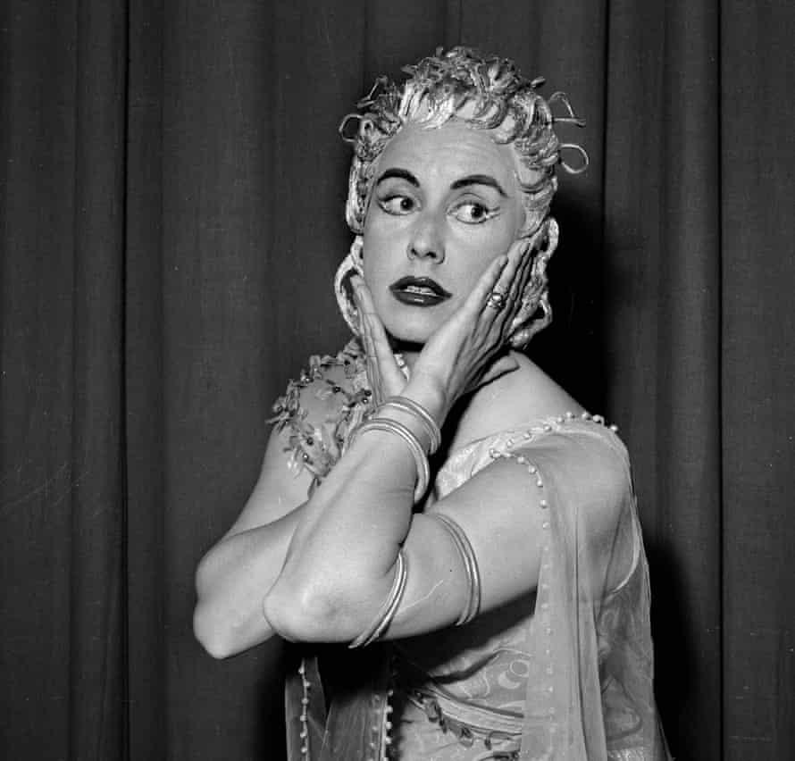 Lisa Della Casa in Ariadne auf Naxos, Paris, 1959.