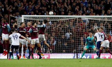 Aston Villa survive late Stewart Downing scare to reach Wembley final