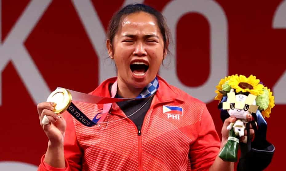 Philippines weightlifter Hidilyn Diaz