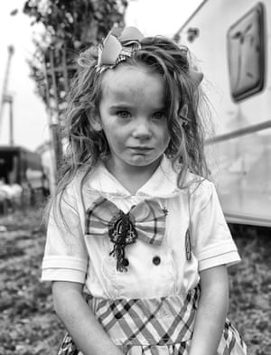 In Johnson's images, Traveller children present themselves in terms of what is important to their own aesthetic and cultural values