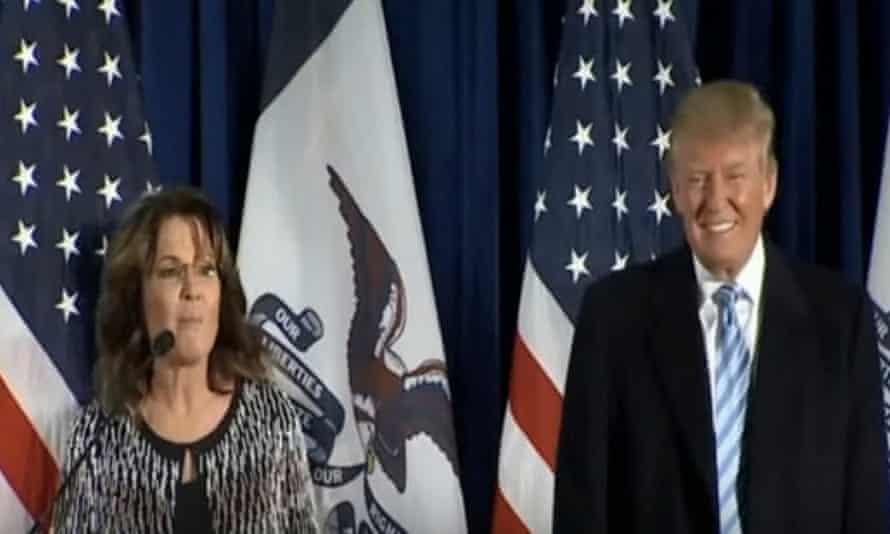 Donald Trump and Sarah Palin