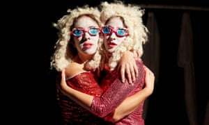 'If we are asked to sell out, then we gladly will' … Rebecca Biscuit and Louise Mothersole in DollyWould.
