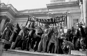 Reclaim the Streets at Trafalgar Square.