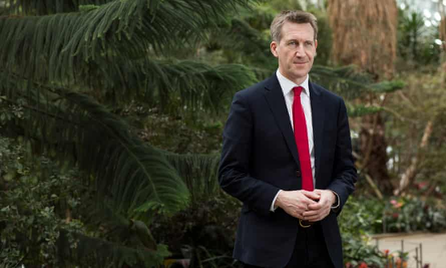 Dan Jarvis, pictured at Sheffield's Winter Gardens
