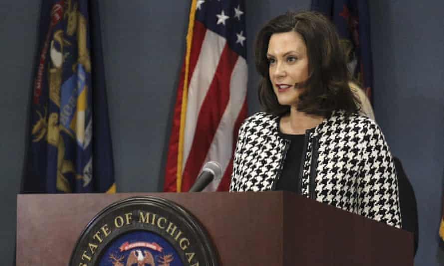 Michigan governor Gretchen Whitmer.