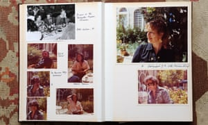 'Curious and good natured, with an ear for memorable one-liners': pages from Antonia Fraser's Israel photo album.