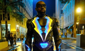 Cress Williams in Black Lightning, Netflix