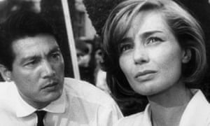 Emmanuelle Riva played a woman torn between love and patriotism in Hiroshima Mon Amour