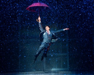 Adam Cooper (Don Lockwood) in Singin' In the Rain, Palace theatre, London, 2012